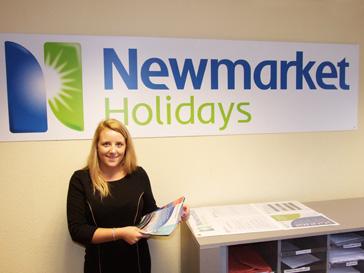 Newmarket Holidays Customer Service Award Nominee Zoe Cowlard